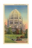 Baha'I Temple, Wilmette, Illinois Poster