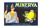 Minerva Lemon Label Prints
