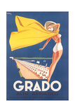Travel Poster for Grado Prints