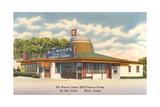 Bill Woods XXX Famous Foods, Waco Print