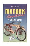 Monark Bike Ad Poster