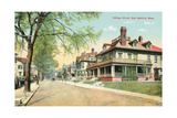 Cottage Street, New Bedford Prints