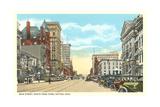Main Street, Dayton Poster