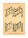Artistic Carpentry, Stair Rails Prints