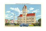 Anderson County Courthouse Prints