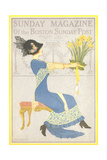 Woman with Daffodils Prints