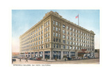 Spreckels Building, Downtown Poster