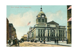 Courthouse, Ft. Wayne Poster