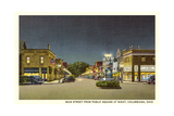 Main Street, Columbiana Prints