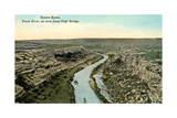 Pecos River from High Bridge Posters