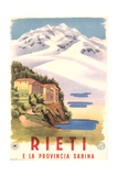 Travel Poster for Rieti Posters