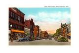 Main Street, Coshocton Print