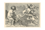 Cherubs at Play Print