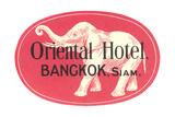 Oriental Hotel, Bangkok, Siam Prints