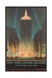 New York Travel Poster Kunstdrucke