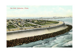 Sea Wall, Galveston Posters