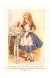 Alice in Wonderland, Drink Me Poster