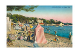 Juan-Les-Pins, Riviera Posters