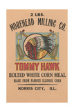 Cornmeal Sack Label Print