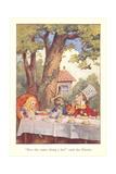 Alice in Wonderland, Mad Tea Party Prints