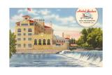 Hotel Baker, St. Charles Print