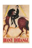 Diany Dorange, Circus Rider Prints