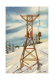 Aspen Ski Lift Posters
