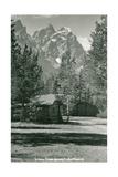Jenny Lake Ranch, Tetons Print