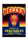 Heller California Vegetables Art