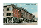 Maine Street, Auburn Kunstdrucke
