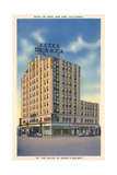 Hotel De Anza, San Jose Poster