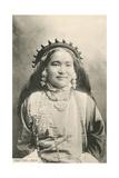 Tibetan Lady Print