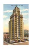 Bassett Tower, El Paso Print