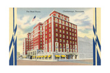 The Red House Hotel, Chattanooga Prints