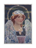 Art Nouveau Angel Poster