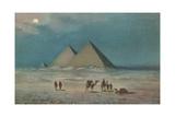 Giza Pyramids Art