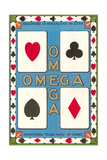Omega Playing Card Posters