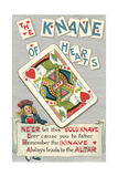 Knave of Hearts Card Posters