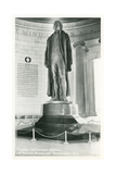 Thomas Jefferson Statue Prints