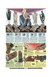 Twenties Clothes Catalog Print