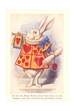 Alice in Wonderland, White Rabbit Prints