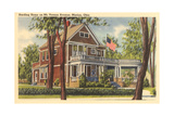 Harding Home, Marion Print