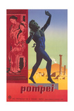 Travel Poster for Pompei Posters