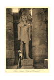 Statue of Ramses II, Luxor Prints