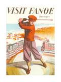 Golfing in Denmark Posters