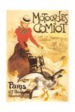 Motocycles Comiot Print