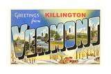 Greetings from Killington Prints