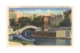 River Walk, San Antonio Kunstdrucke