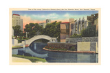 River Walk, San Antonio Prints