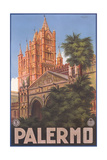 Travel Poster for Palermo Prints